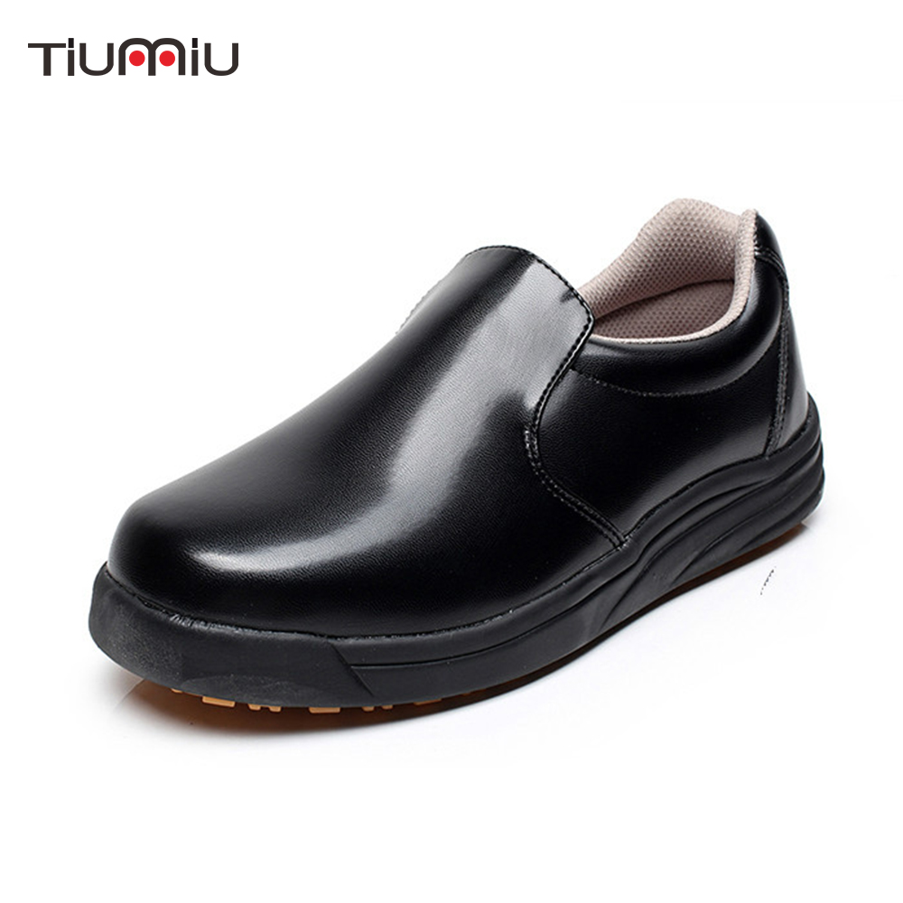 Unisex High Quality Chef Shoes Non-slip Waterproof Oil-proof Food Service Kitchen Canteen Restaurant Work Shoes Slippers
