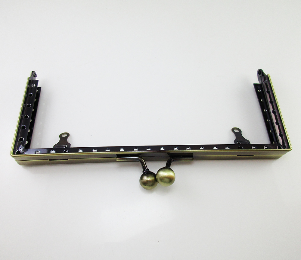 5 Pz Di Bronzo Metallo Maniglia Telaio Telaio Frizione L'Ultima Moda