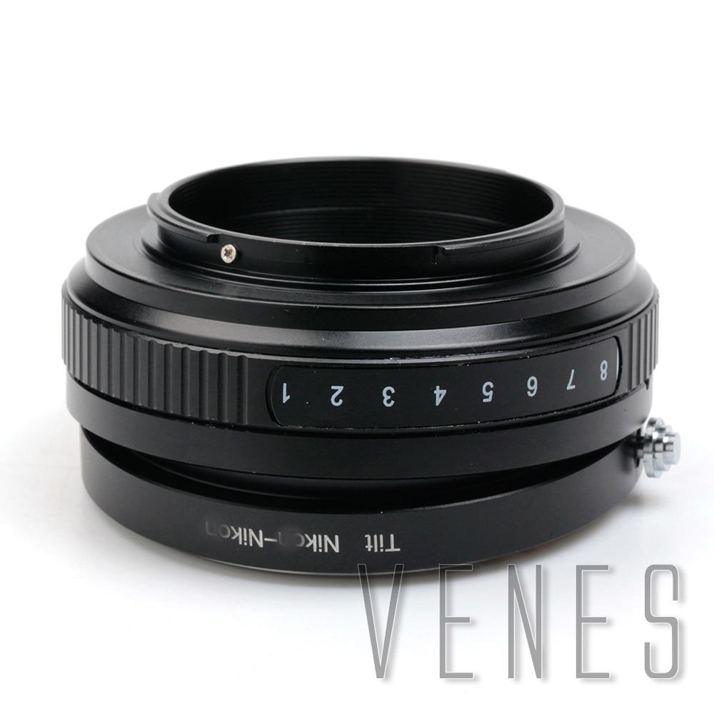 Macro Tilt Lens Adapter Suit For Nikon AF AF-S Lens to Suit Nikon for Camera Adapter Ring For D5300 D610 D7100 D5200 D600