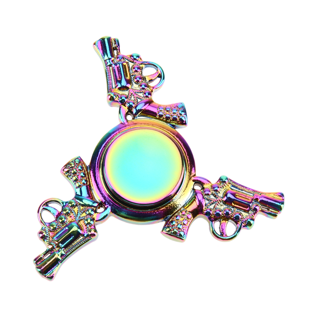 EDC Fidget Spinner Fast Rotation Alloy Hand Spinner for Autism and ADHD Stress Relief Focus Toys