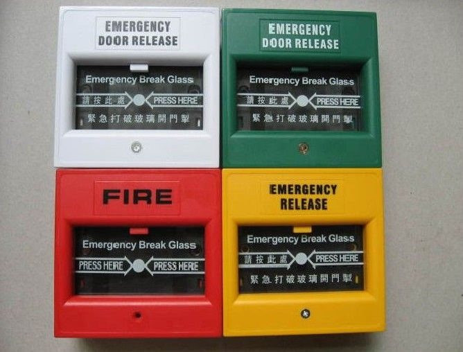 Emergency Door Release Glass Break Fire Alarm Button Emergency switch exit button access control