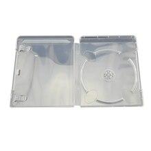 Caja de plástico para discos de CD y DVD, caja de almacenamiento de CD para PS3