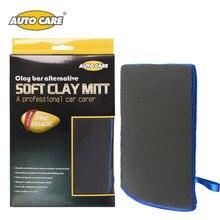 AutoCare Magic Clay Mitt Car Polish Clay Bar Atuo Detailing Clay Glove Microfiber Car Wash Gloves Car Styling  Washing Tool
