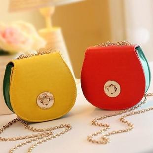 Free shipment Fashion brief women's handbag small mini women's handbag casual bag