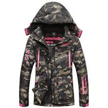 Winter large outdoor ski mountaineering couple Jackets cotton