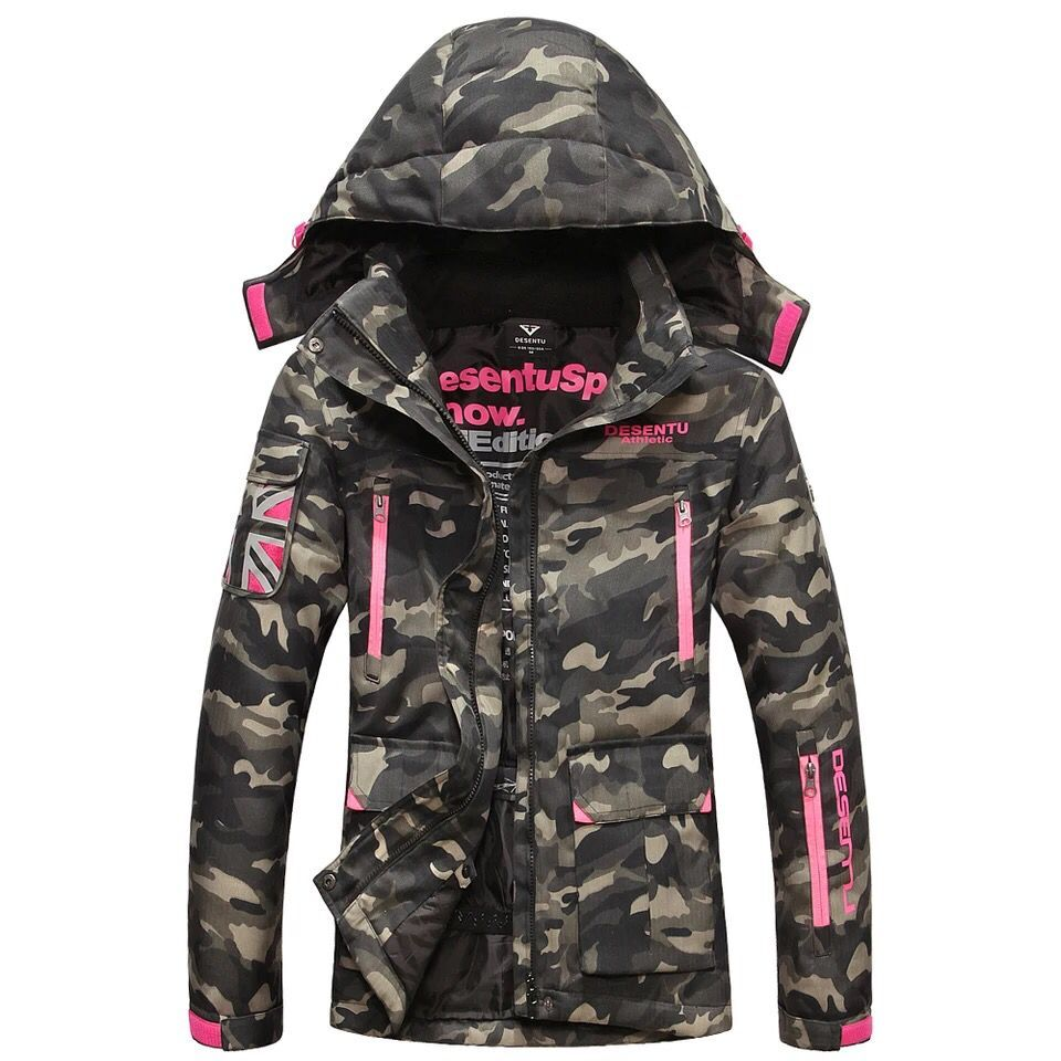 Winter large outdoor ski mountaineering couple Jackets cotton casio mtp 1377l 1a