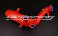 Dellaria di Aspirazione del silicone di Aspirazione Induzione Tubo/tubo per audi TT/Golf MK4 1.8 t Rosso