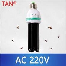 220V E27 5-40 Вт УФ лампа УФ ультрафиолетовый флуоресцентный свет лампа Спиральные энергосберегающие черный светло-фиолетовые лампы освещения