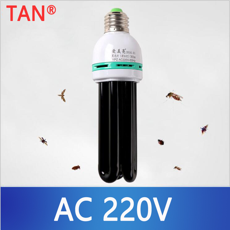 220V E27 5-40W UV Light Bulb UV Ultraviolet Fluorescent  Light Bulb Spiral Enegy Saving Black Light Violet Lamps Lighting
