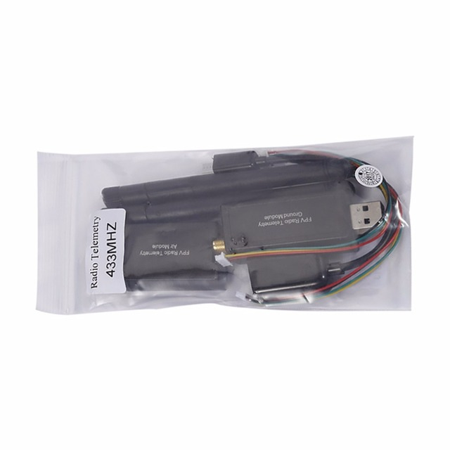 Wholesale 1pc 3DR Radio Telemetry Kit 433Mhz Module Open source for APM 2.5 2.6 2.8 Discount Drop Shipping