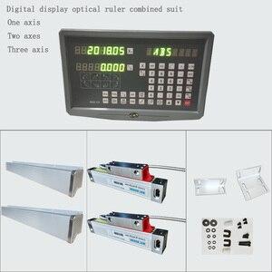 Image 2 - Fräsmaschine drehmaschine linear schneiden maschine digital display DRO linear optische herrscher gitter herrscher spezielle paket