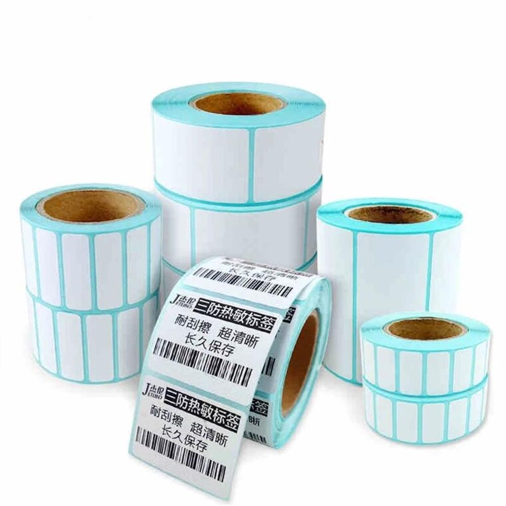 Jetland Thermal Label  Rolls width of 20mm ~ 80mm  combo pack  TOP thermal barcode Stickers for Zebra Printers 流水 盆 養魚
