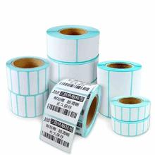 Термоэтикетки Jetland в рулонах, Ширина 20 80 мм, комбинированная упаковка, верхние термонаклейки для штрих кодов для принтеров Zebra