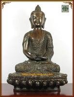Buddhismus lieferungen kupfer buddha große bronzestatue trinity-in Statuen & Skulpturen aus Heim und Garten bei