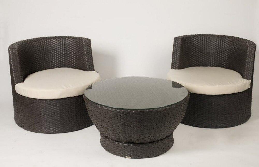 minimalist modern landscape design with rattan sofa   Hot Sale weatherproof best quality small modern rattan ...