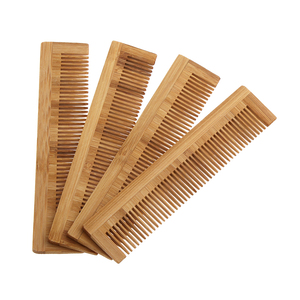 1Pcs High Quality Massage Wooden Comb Bamboo Hair Vent Brush Brushes Hair Care and Beauty SPA Massager Wholesale Hair Care comb(China)