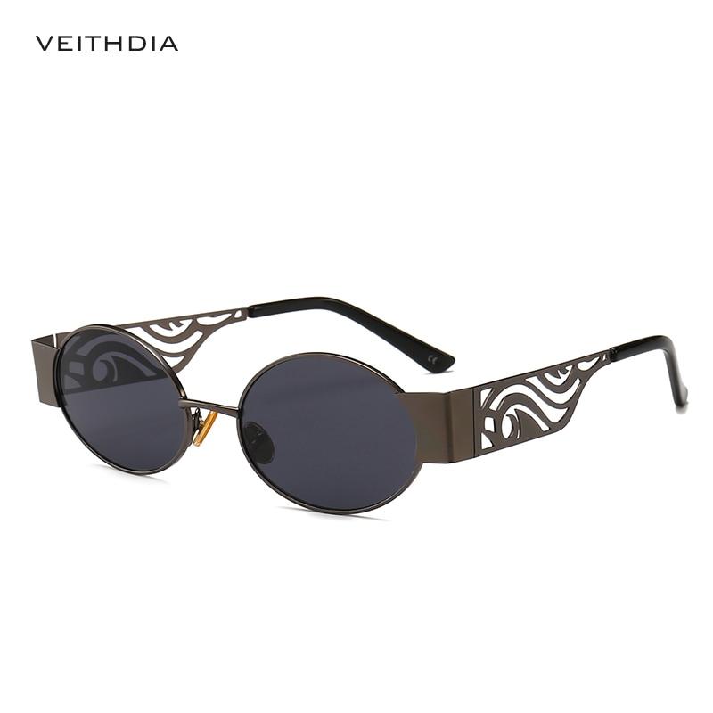 869f6f445d897 2019 Vintage Retro Steampunk Sunglasses Women Brand Designer Glasses Small  Oval lentes de sol mujer UV400