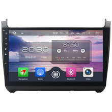 Octa Core 4GB RAM 32GB ROM Android 6.0.1  2 Din Car DVD Multimedia Player Auto Radio GPS navigation For Volkswagen Polo 2015