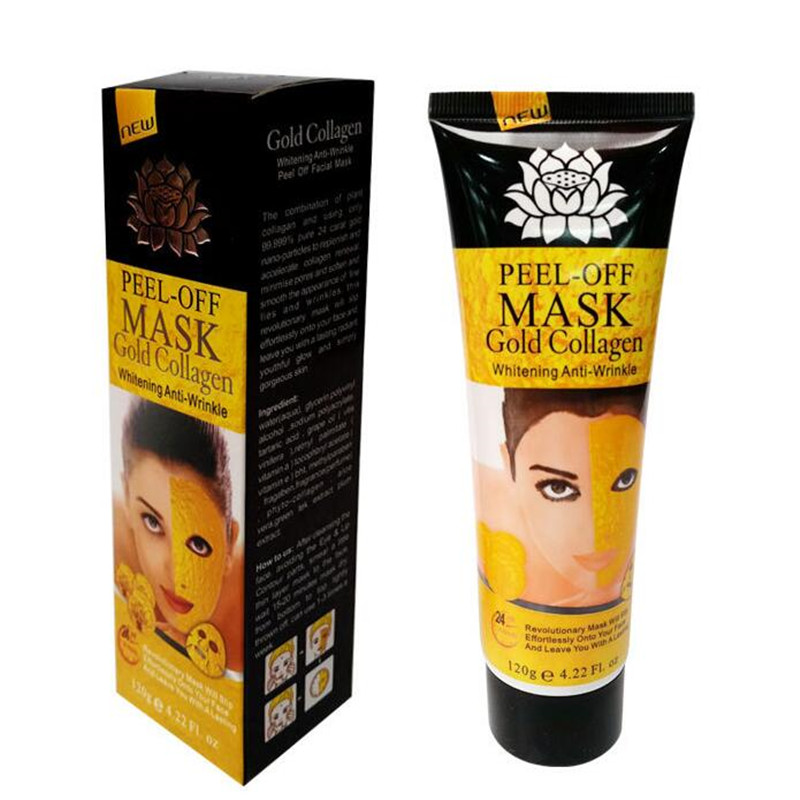 Brand 24K golden mask Anti wrinkle anti aging facial mask face care whitening face masks skin care face lifting firming Masks