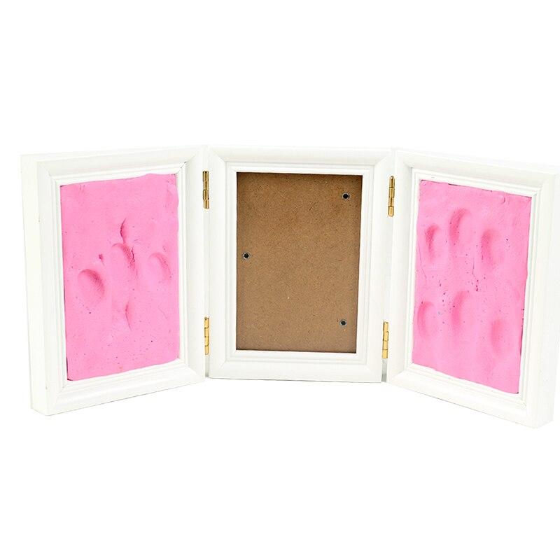 Baby Photo Frame Diy Footprint Χειρόγραφο - Διακόσμηση σπιτιού - Φωτογραφία 3