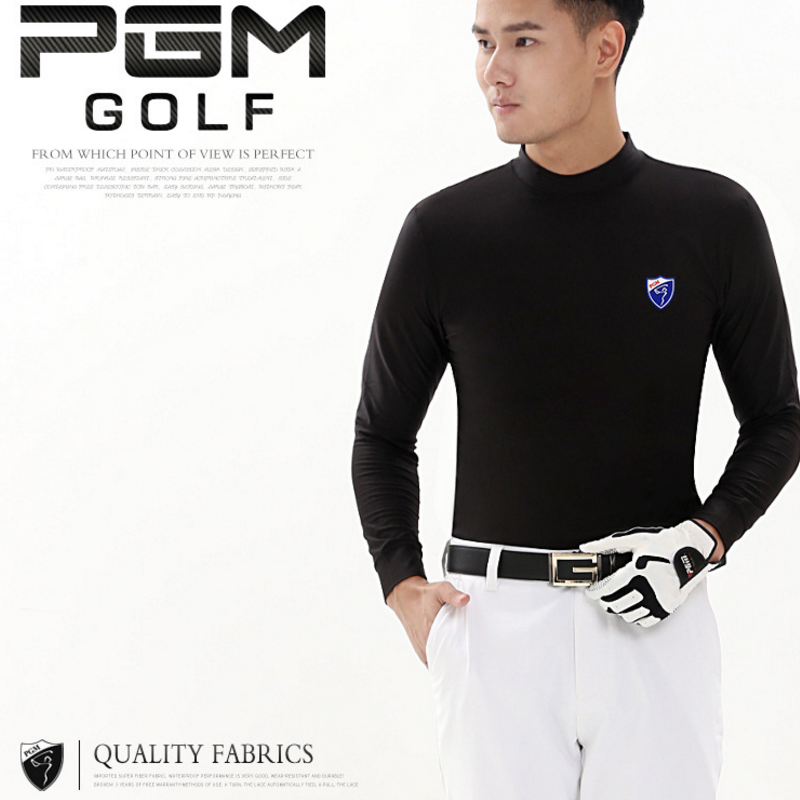 Pgm Men Golf Clothing Uv Protection Sun Shirt Ice Tights T Shirt Male Long Sleeved T-Shirt Training Underwear Shirts AA11843