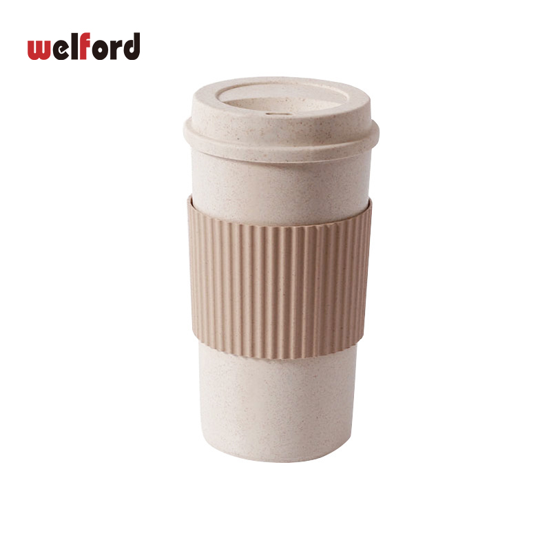 Multiple sizes Anti-scalding Coffee Cups Travel Coffee Mug with Lid Stir Portable Outdoor travel BPA free milk cups and mugs