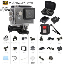 Original EKEN H9  H9R remote Action camera Ultra HD 4K WiFi 1080P/60fps 2.0 LCD 170D lens Helmet Cam gopro type waterproof
