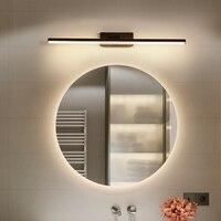 Mirror front light LED mirror cabinet light bathroom bathroom anti fog aluminum modern minimalist makeup dressing table lamp