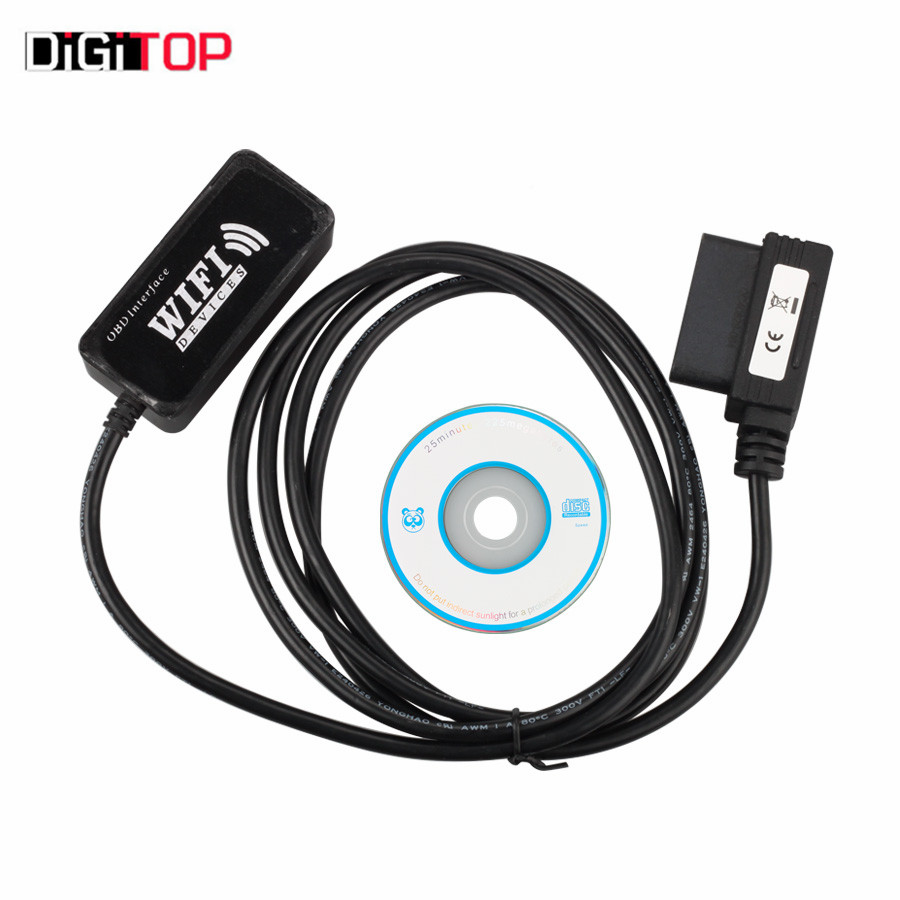 WiFi OBD-II Car Diagnostics Tool for Apple/for iPad/for iPhone/for iPodfor Touch with Free Shipping for a11120700010