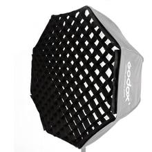"""Godox 黒シングルグリッドのための 80 センチメートル/31.5 """"インチ傘ソフトボックス反射傘ソフトボックススタジオ写真"""