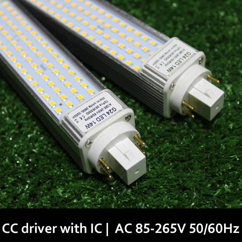 G24q g24q-2 g24q-3 LED מנורת g24q 3 led 5W 7W 9W 10W 11W 12W בלנקו Calido Lampara Bombillas PL LED SMD2835 5730 5050 110 V/220 V
