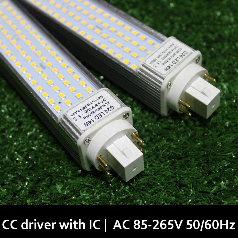 G24q G24q-2 G24q-3 LED Lamp G24q 3 Led 5W 7W 9W 10W 11W 12W Blanco Calido Lampara Bombillas PL LED SMD2835 5730 5050 110V/220V