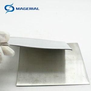 Image 5 - פח ריתוך מתכת צלחת רדיד צלייה סלסול 99.99% מחקר מדעי מעבדה שימוש יסודי חומר 0.02mm 20mm Sn גיליון