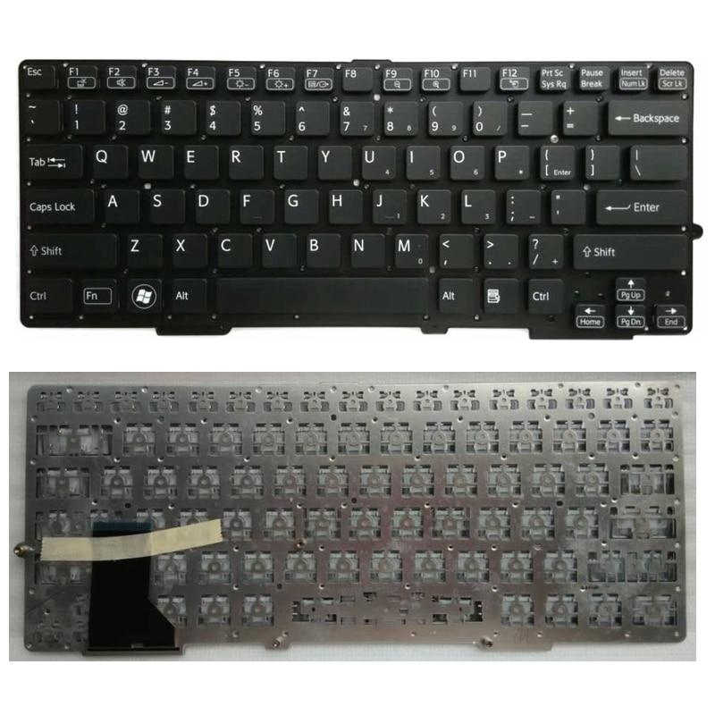 US Black New English Replace laptop keyboard For SONY SVS 13 S13A100C S13128CCB S13118ECP S13127CCP S13A1S5C S13117ECP S13117ECW