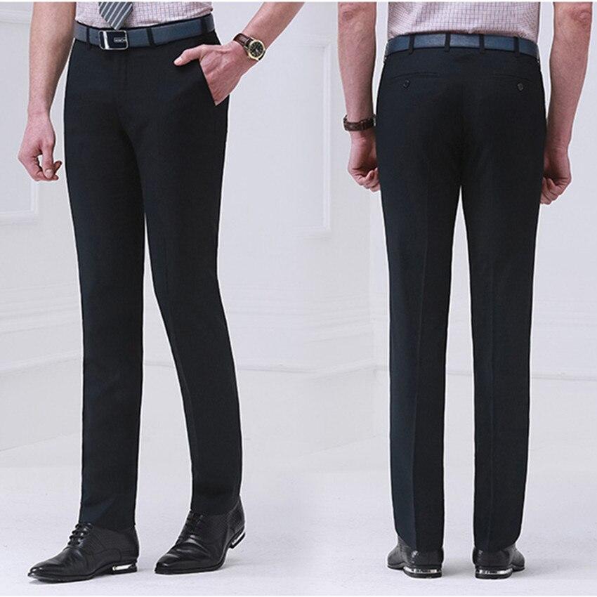 mens slim fit suit pants dress yy