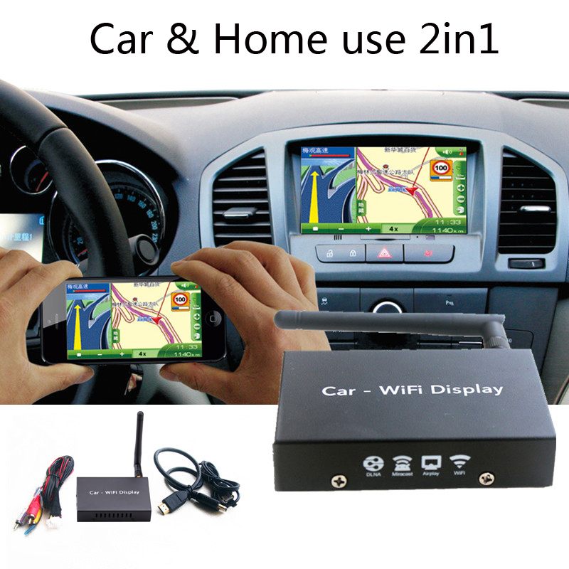 HDMI Car WiFi Display Mirror Box Car Navigation and TV Video Audio Adapter Airplay Screen Mirroring for iPhone iOS Android PHONEHDMI Car WiFi Display Mirror Box Car Navigation and TV Video Audio Adapter Airplay Screen Mirroring for iPhone iOS Android PHONE