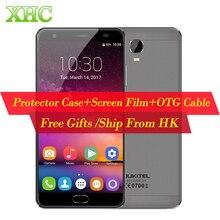 Oukitel K6000 плюс 6080 мАч Android 7.0 MTK6750T Octa Core 5.5 »Встроенная память 64 ГБ Оперативная память 4 г отпечатков пальцев 12 В/2A Quick Charge 16MP смартфон