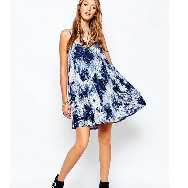Tie dye summer dresses sale