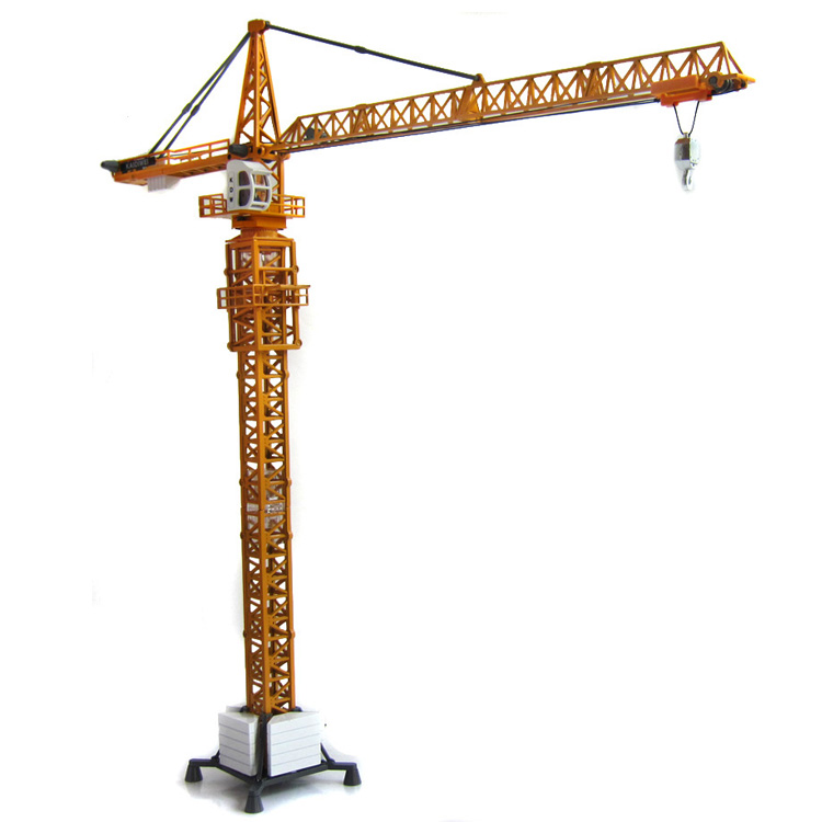 KAIDIWEI Tour grues 1:50 Alliage Ingénierie modèle De Voiture en métal Grande grue Exquis cadeau enfants jouet Ville Bâtiment Série W102