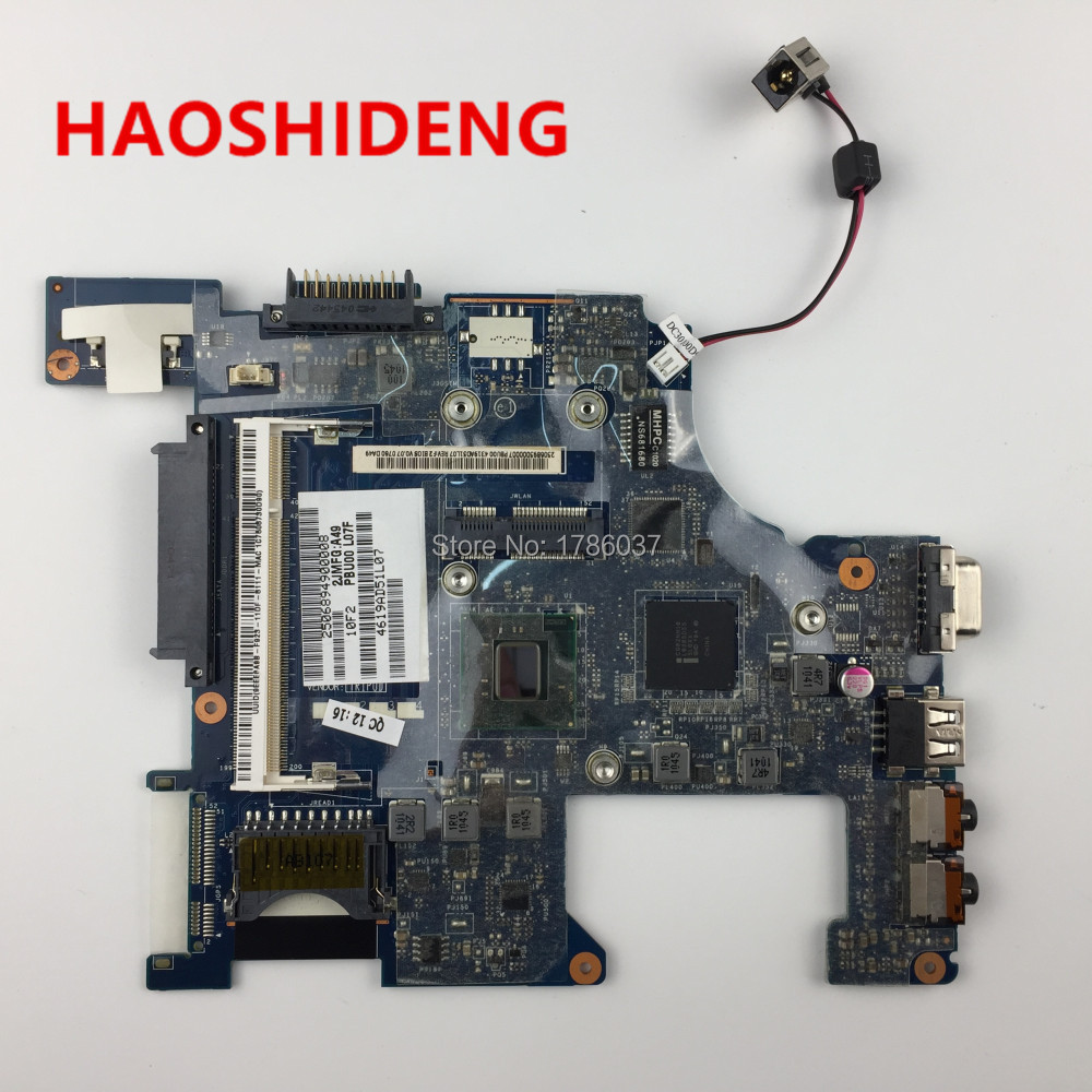 K000114430 LA-6855P for Toshiba Mini NB500 NB505 Motherboard .All functions fully Tested! wholesale la 6851p k000114340 laptop motherboard for toshiba nb505 100% work perfect