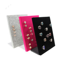 Free Shipping Wholesale L Stud Earring Holder Stud Earring Display Rack Props Earrings Stud Earring