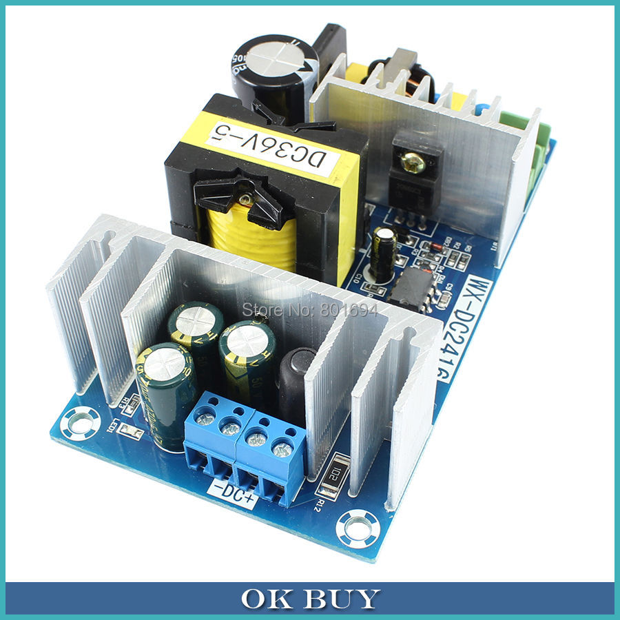 <font><b>180W</b></font> <font><b>AC</b></font>-<font><b>DC</b></font> Switching Power Supply Module AC110V 220V to <font><b>DC</b></font> <font><b>36V</b></font> <font><b>5A</b></font> High Power Adapter Board image