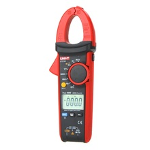 Mini True RMS Digital Clamp Meters UNI-T UT216A Auto Range 600A Multimeters AC Voltage Current Tongs Testers Diagnostic-tools uni t ut216a ut216b ut216c digital clamp meter non contact voltage detection with led indication 600a ac current measurement