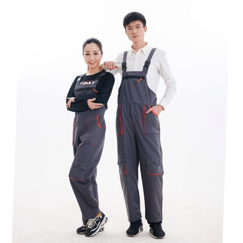 Work overalls men women protective coverall repairman strap jumpsuits trousers working uniforms Plus Size sleeveless coverallsWork overalls men women protective coverall repairman strap jumpsuits trousers working uniforms Plus Size sleeveless coveralls