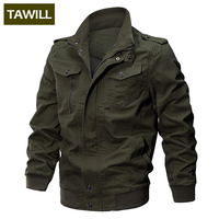 TAWILL Jacket Men Winter Military Army Pilot Men S Bomber Jacket Tactical Man Jacket Coat Jaqueta