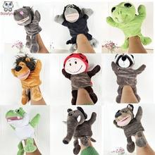Csecsemő gyermekek kézi báb gyerekek baba plüss tele játék NICI állat sorozat lábbal Bábok játékok karácsonyi születésnapi ajándék