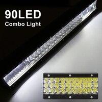 Car Styling 20inch LED Work Light Bar 90 LEDs 270W Work Light 12V Car Lamp Accessories