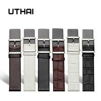 UTHAI Z16 новые дизайнерские аксессуары для часов Ремешки для часов CK 14 мм 16 мм 18 мм 20 мм 22 ремешок для часов, мм браслет
