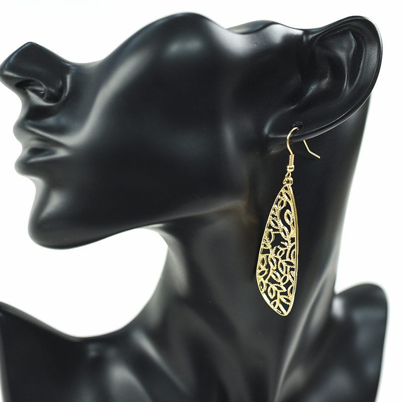 Carvejewl drop dangle earrings simple metal wings cute lovely young girl gift unique fashion Korean earrings for women jewelry