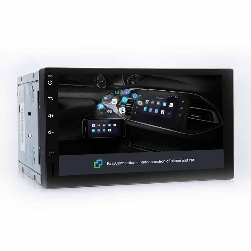 أندرويد 8.1 2 الدين راديو السيارة الوسائط المتعددة لنيسان ملاحظة قاشقاي Xtrail Juke ألميرا 3 رئيس وحدة الصوت مسجل شرائط الملاحة لتحديد المواقع